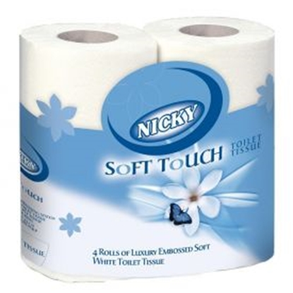 Picture of NICKY SOFT TOUCH 2PLY TOILET ROLLS (40)