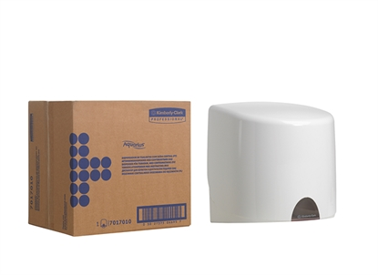 Picture of 7017 Kimberly Clark Professional Aquarius Wiper Dispenser for Centrefeed Roll- White