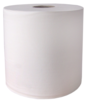 Picture of B2W340 White 2 Ply Bumper Roll 400m