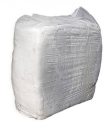 Picture of WHI 10 - 10KG 1W WHITE RAGS IN EACH BAG
