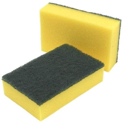 Picture of Caterer's Sponge Scourers- Size: 14x9cm