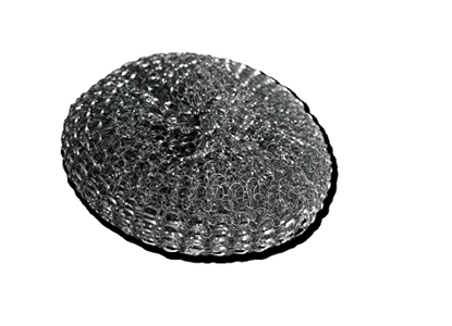 Picture of 38gm Galvanised Steel Scourer (Large)- Pack of 10