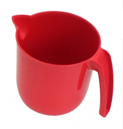 Picture of 2 Litre Red Metal Detectable Jug