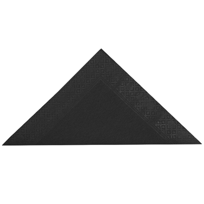 Picture of Swantex Black Napkin 40cm 2 Ply