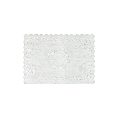 "Picture of ETP-14 EMBOSSD WHITE TRAY PAPERS 13.75X9.5"" (1000)"