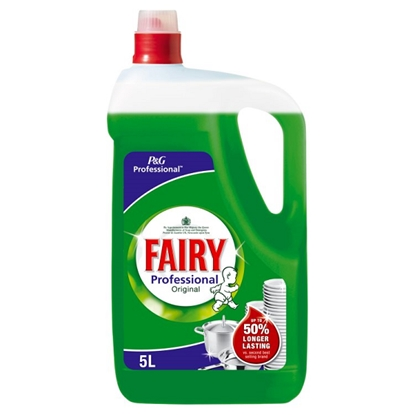 Picture of 1.0 PROFESSIONAL FAIRY WASH UP LIQUID 5 LTR