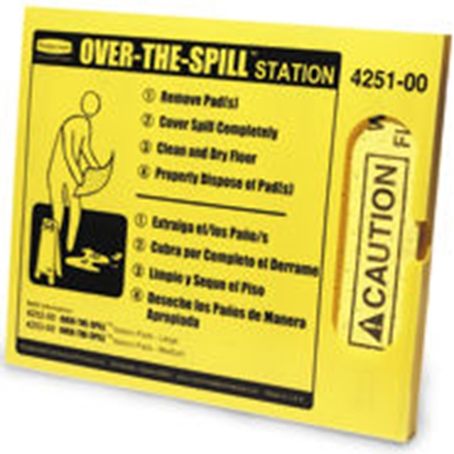 Picture of Rubbermaid Over the Spill Pads Kit- Yellow