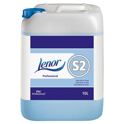 Picture of P&G Lenor Professional System S2 Extra Soft and Fresh Liquid 10 Litre (Auto Dose)
