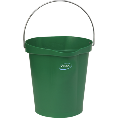 Picture of 56862 Vikan Hygiene Bucket 12 Litres- Green