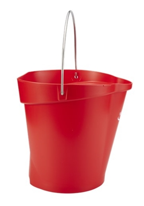 Picture of Vikan 56864  Hygiene Bucket 12 Litres- Red