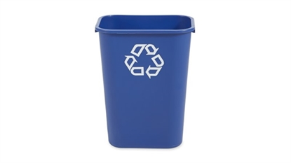 Picture of Rubbermaid 39 Litre Rectangular Wastebasket