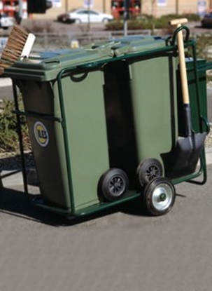 Picture of STREET ORDERLY CLEANING TROLLEY 240 LITRES
