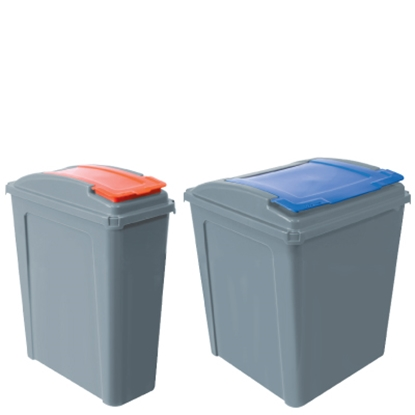 Picture of 50 LITRE GREEN ECO WASTE RECYCLING BIN
