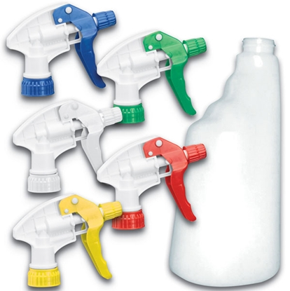 Picture of Yellow Spray Trigger Head Only- Each