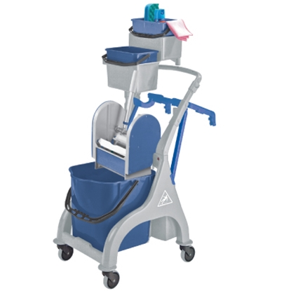Picture of 4 LITRE BLUE BUCKET FOR USE WITH KENTUCKY MOPPING TROLLEY