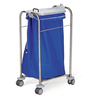 "Picture of BLUE LAUNDRY BAG FOR MEDICART 30""X40"" NYLON"