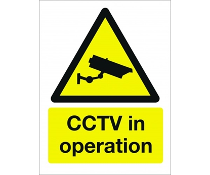 Picture of CP163 CCTV IN OPERATION SIGN 400X300MM