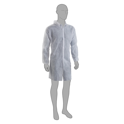 Picture of PAL DISPOSABLE VISITORS COAT LARGE (100)
