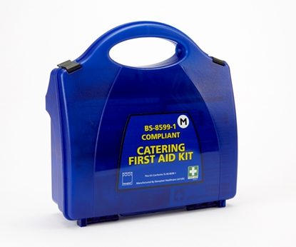 Picture of BS8599-1 COMPLIANT CATERING FIRST AID KIT- SMALL