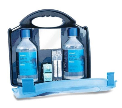 Picture of Eye Wash Double Station 500ml Complete- Green