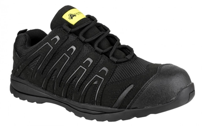 Picture of FS40C Amblers Black Safety Shoe (Trainer)- Size: 13