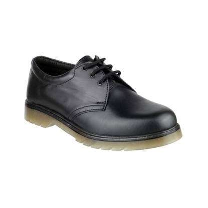 Picture of ALDERSHOT SIZE 6 AMBLERS BLACK NON SAFETY SHOE