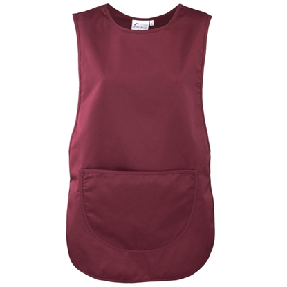 Picture of Burgundy Tabard with Pocket-  Size: Medium