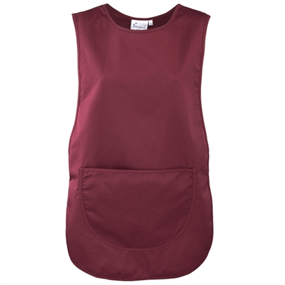 Picture of Burgundy Tabard with Pocket- Size Large