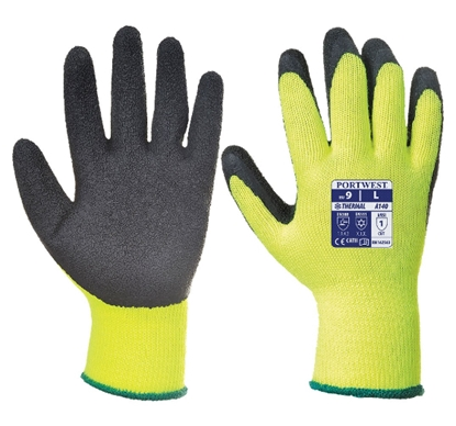 Picture of A140 PORTWEST THERMAL GRIP GLOVE-  LARGE SIZE 9
