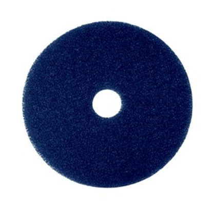 """Picture of 3M BLUE 11"""" SPRAY CLEANING FLOOR PAD EACH"""