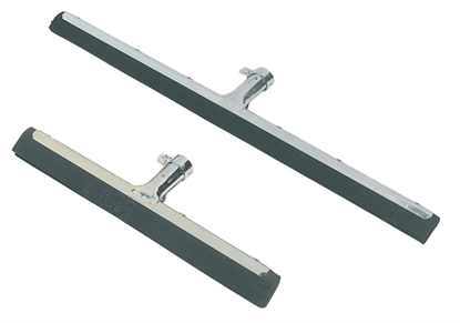 "Picture of 45CM (18"") ZINC PLATED STEEL FRAME FLOOR SQUEEGEE- SOLD EACH"