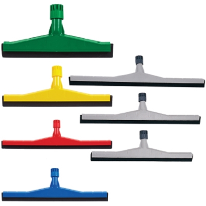 "Picture of 35CM (14"") GREY HEAVY DUTY PLASTIC FLOOR SQUEEGEE- SOLD EACH"