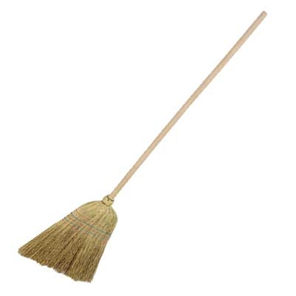 Picture of HILLBRUSH CN1 1400MM MEDIUM CORN BROOM WITH HANDLE
