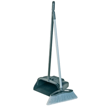 Picture of BLACK PROFESSIONAL LOBBY DUSTPAN & BRUSH COMBO- HIGH PROFILE