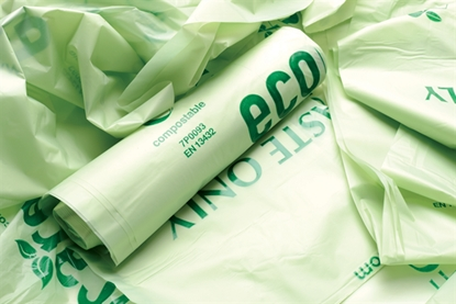 Picture of 70 Litre Green Compostable Sack- 30 rolls