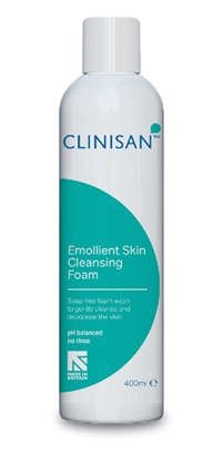 Picture of CLINISAN EMOLLIENT SKIN CLEANING FOAM C/S 12x400ml