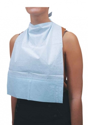 Picture of BIBETTE ULTRA LARGE DISPOSABLE BIBS 1 X 500