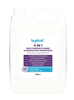 Picture of BYOTROL DISINFECTANT WITH STAIN & ODOUR REMOVAL 5L
