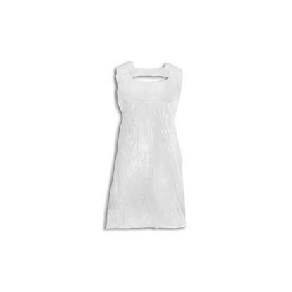 """Picture of APRONS 20 MU WHITE 40"""" FLAT PACKED (1000)"""