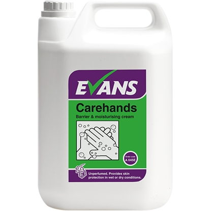Picture of A045EEV2 Evans Carehands Barrier & Moisturising Hand Cream 5 Litre