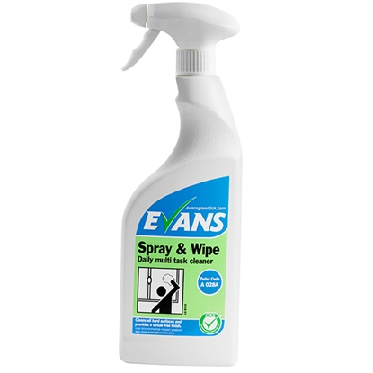 Picture of A028AEV Evans Spray & Wipe Daily Multi Task Cleaner 750ml