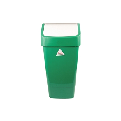 Picture of LUCY 50 LITRE GREEN SWING BIN COMPLETE- SOLD EACH
