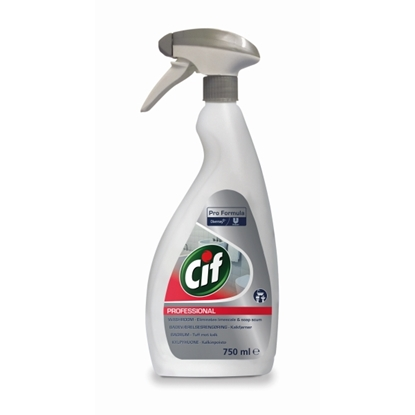 Picture of CiF Washroom 2 in 1 Washroom Cleaner & Limescale Remover 750ml