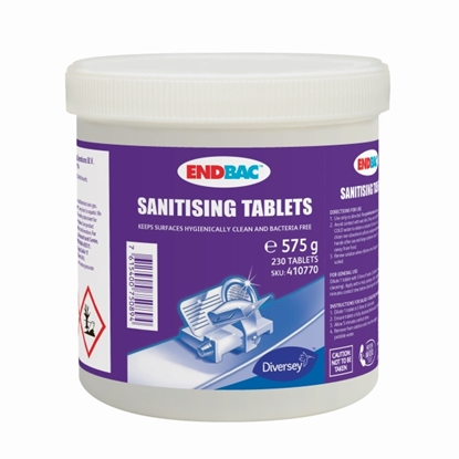 Picture of ENDBAC SANITIZER TABLETS (230)