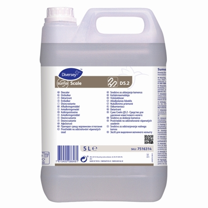 Picture of 7516314 Diversey Suma Scale D5.2 Concentrated Acidic Cleaner 5 Litre