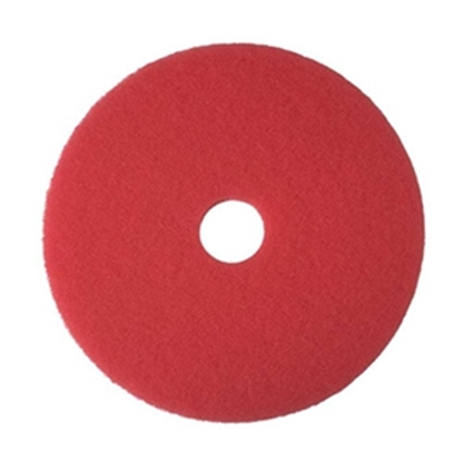 "Picture of 20"" RED ECONOMY CLEANING FLOOR PAD- CASE OF 5"