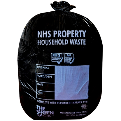 Picture of FL0531 24L NHS H/HOLD WASTE SACK [ 500] 560 X 635