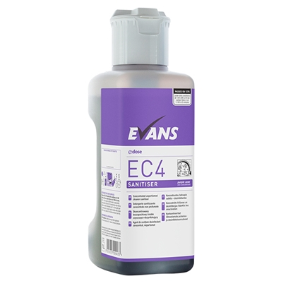 Picture of Evans EC4 Sanitiser Multi-surface Cleaner & Disinfectant 1 Litre