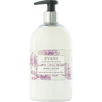 Picture of A082FEV Evans Hand Lotion Moisturiser with Shea Butter 500ml
