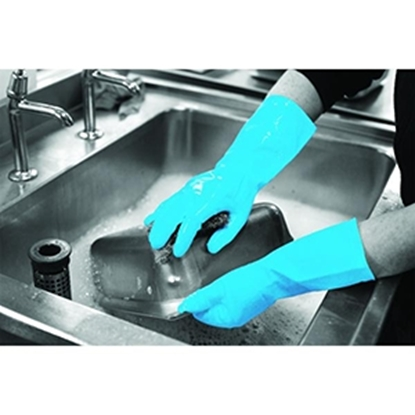 Picture of BLUE LARGE HOUSEHOLD GLOVES PER PAIR